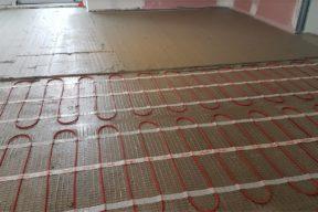 plancher chauffant rénovation ancenis